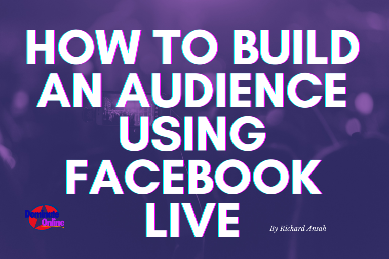 How To Build An Audience Using facebook Live | 10 ways