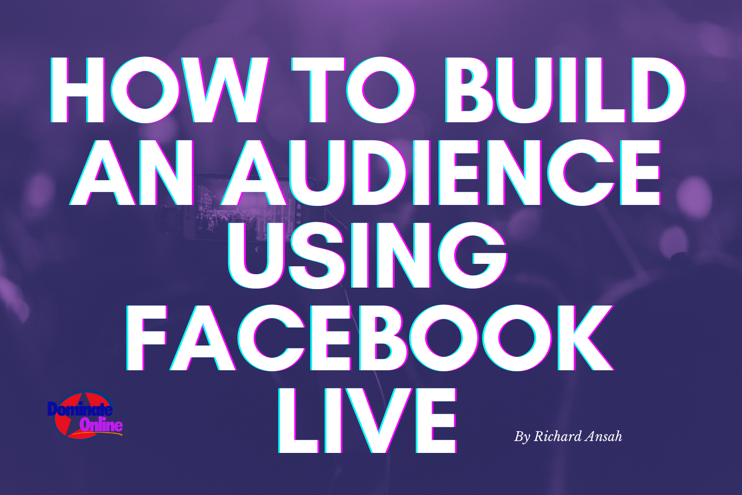 How to build an audience using facebook live